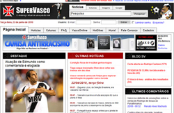 SuperVasco - Site sobre o Club de Regatas Vasco da Gama